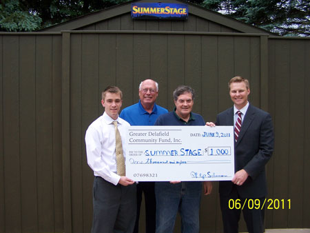 Presentation of SummerStage Check